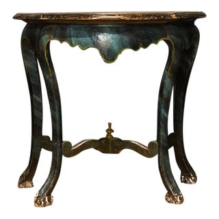 19th Century Spanish Painted Console For Sale