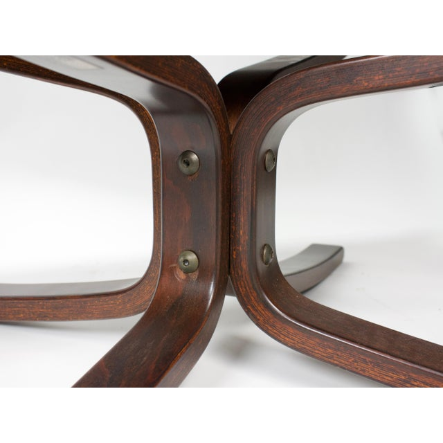 1970s Sigurd Resell for Vatne Møbler Falcon Lounge Chairs- A Pair For Sale - Image 10 of 13