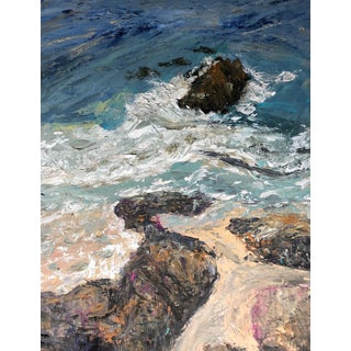 A Splash of Crystal Cove Painting For Sale