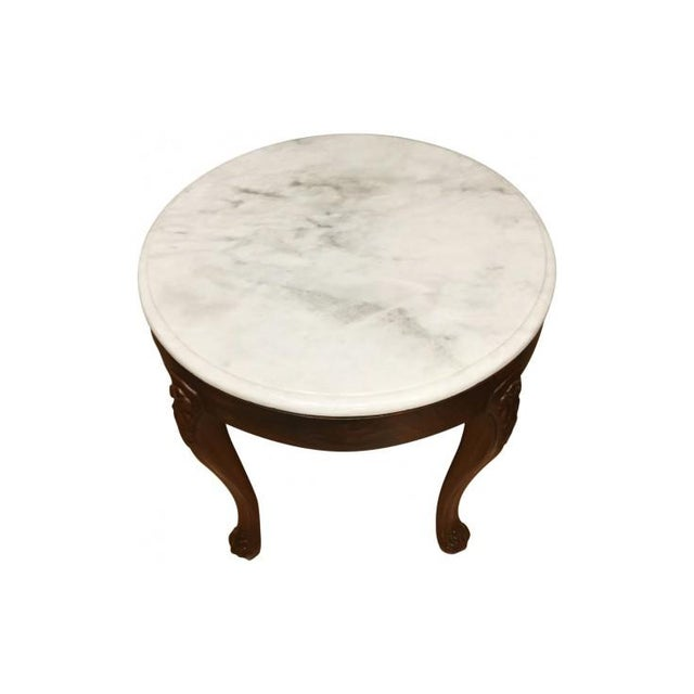 English Traditional Alhena Rosewood Accent Table For Sale - Image 3 of 3