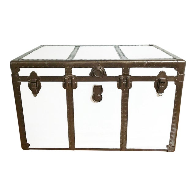 Vintage Steamer Trunk Table - Image 1 of 8