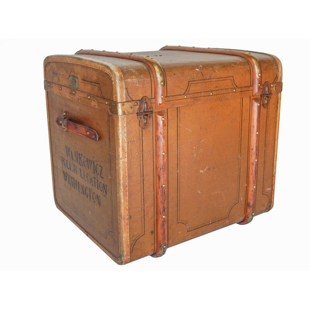 Early 20th Century Polish Trunk - Image 5 of 10