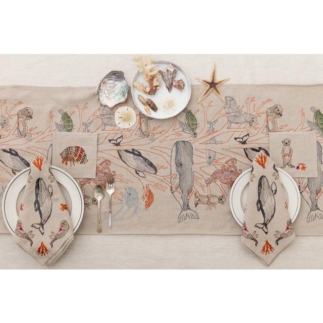 Coral Forest Dinner Napkin - Image 6 of 7