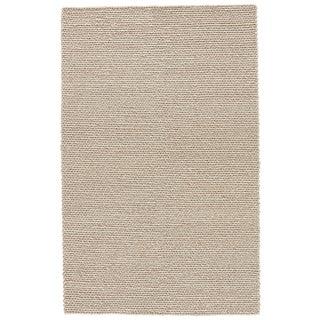 Jaipur Living Braiden Handmade Solid Gray Area Rug - 9′ × 12′ For Sale