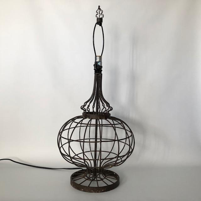 Contemporary antiqued metal wire office table lamp chairish a chic contemporary wire work lamp with an antiqued finish and a bit of a french contemporary contemporary antiqued metal wire office table greentooth Image collections