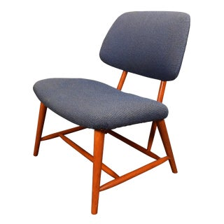 "1950s Mid Century Modern Alf Svensson for Ljungs Industrier ""TeVe"" Side Chair For Sale"