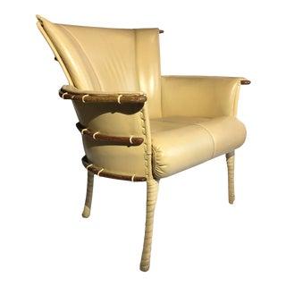 Pacific Green Modern Club Chair For Sale