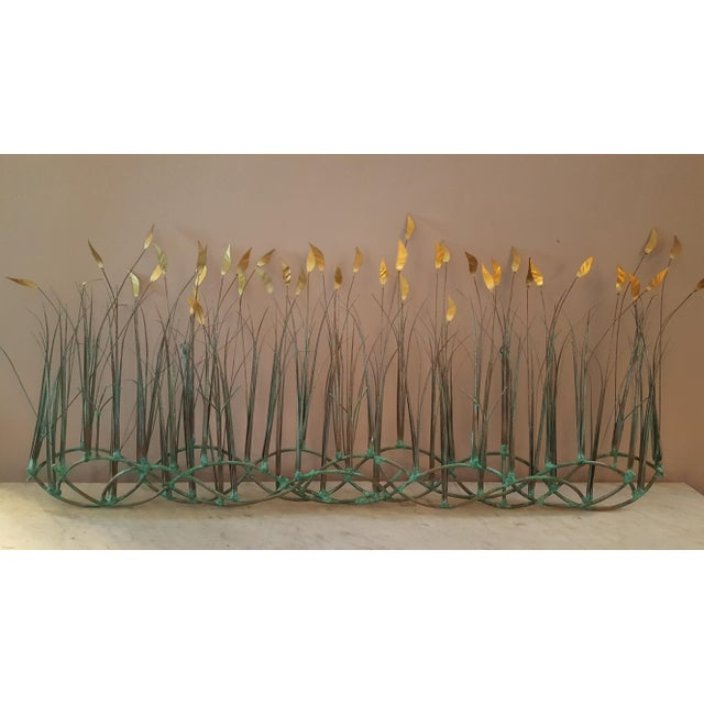 Sea Oats Wall Art Sculpture by Max Howard For Sale - Image 6 of 9
