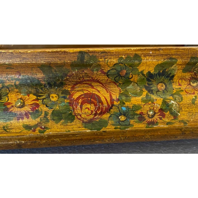 19th Century Painted Italian Letter Box For Sale In Dallas - Image 6 of 9