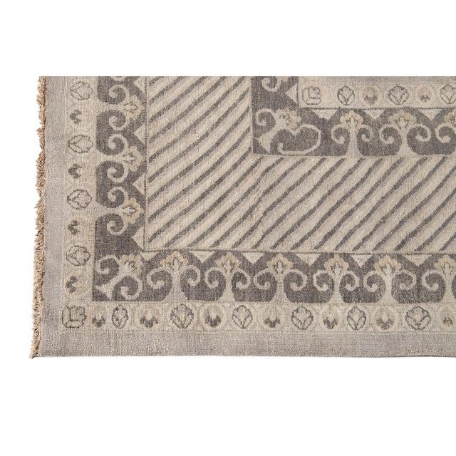 2010s 21st Century Modern Kohtan Wool Rug For Sale - Image 5 of 13
