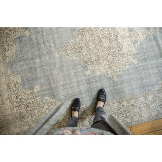 "Vintage Distressed Oushak Carpet- 6'8"" X 10'2"" Preview"