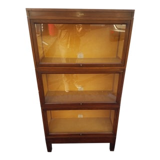 1920s Traditional Globe Werneke Stacking Barristers Bookcase For Sale