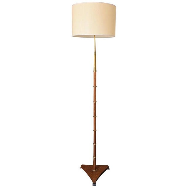 20th Century French Floor Lamp by Maison Lunel, 1950s For Sale - Image 9 of 9