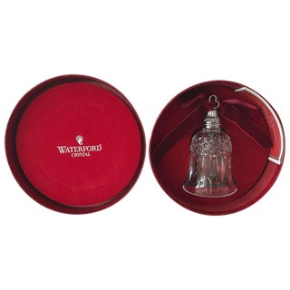 """Jingle Bells! Waterford """"12 Days of Christmas"""" Crystal Bell a Great Gift Idea!"""