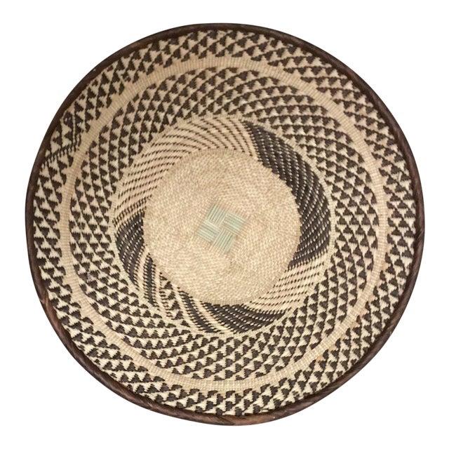 Binga Basket | Tonga Baskets 39 |African Basket | Woven Basket |Zimbabwe Basket |Ethnic Pattern |Ethnic Decor |Wall Hanging Basket - Image 1 of 6