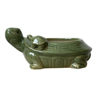 Mother and Baby Turtle Planter For Sale