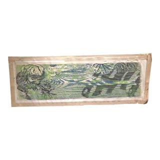 Gwyneth Mabel Travers (1911 - 1982) La Mer Woodcut No 23/25 For Sale