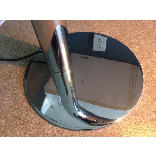 Robert Sonneman Chrome Desk Lamp - Circa 1970s For Sale - Image 11 of 12