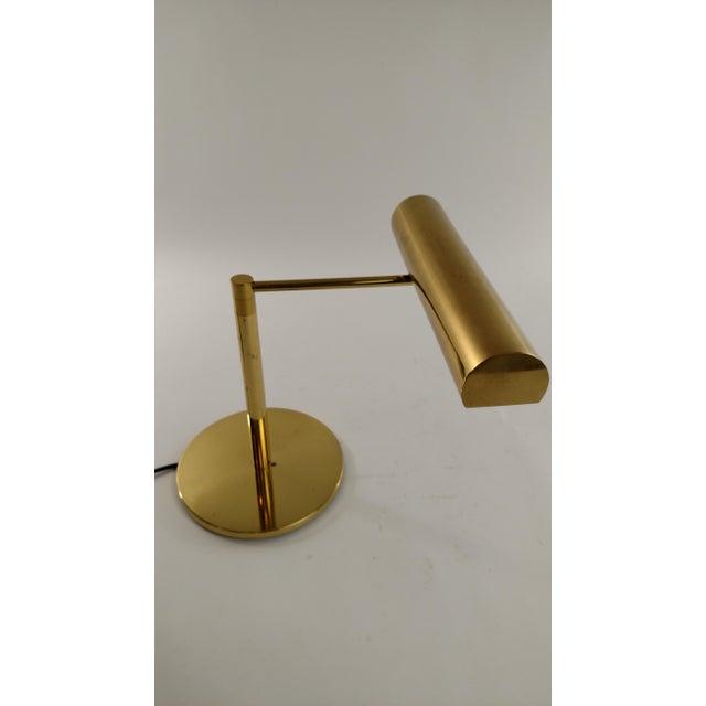 Vintage Restored Brass Desk Lamp - Image 2 of 7