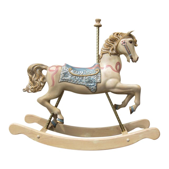 S&S Carvers Carousel Rocking Horse - Image 1 of 8
