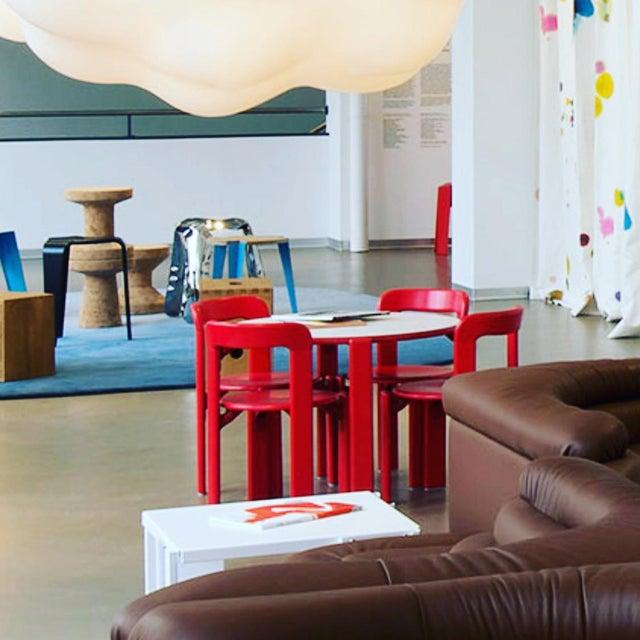 Children's Modern Dietiker Red Children's Chair For Sale - Image 3 of 5