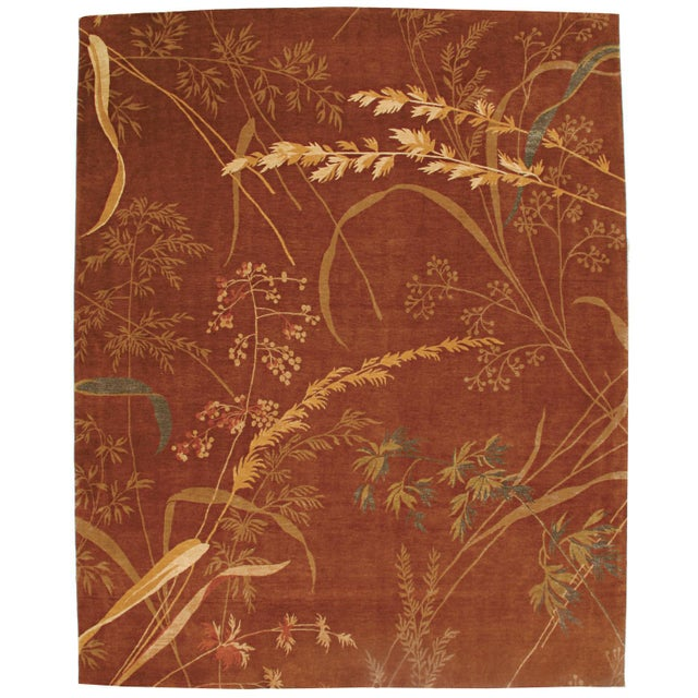 Asian Origami Collection - Customizable Picante Rug (6x9) For Sale - Image 3 of 3