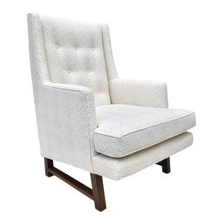 1950's Edward Wormley Dunbar Lounge Chair For Sale
