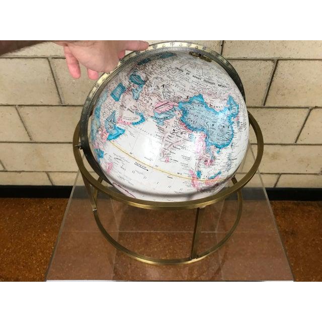 Mid Century Modern Paul Mccobb Style Replogle Desk Globe For