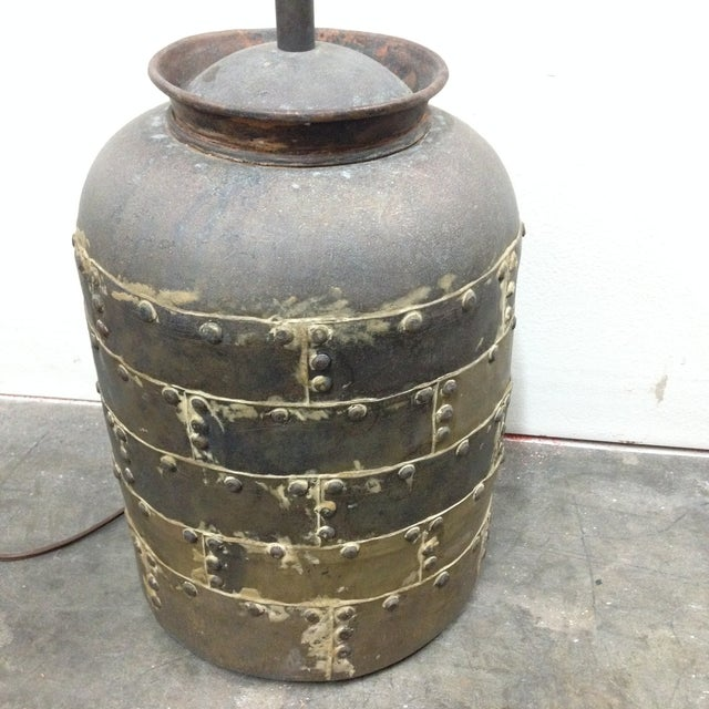 Chapman Manufacturing Company Vintage Chapman Brutalist Lamp For Sale - Image 4 of 11