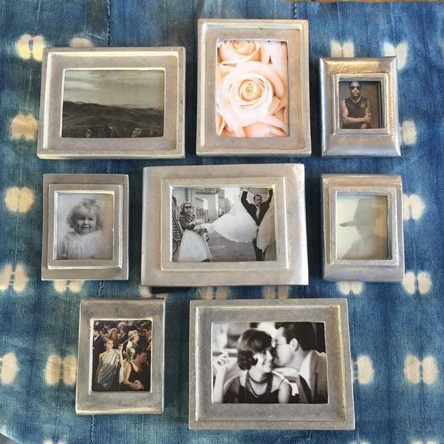 Vintage Metal Picture Frames - Set of 8 - Image 3 of 5