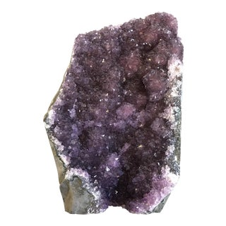 Deep Purple Amethyst Geode