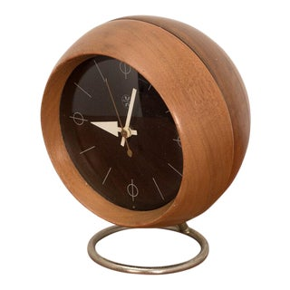 1950s George Nelson Chronopak Desk Clock For Sale