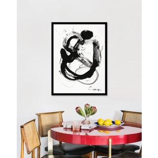 """Medium """"Noir Et Blanc Nombre 4"""" Print by Lesley Grainger, 23"""" X 31"""" Preview"""