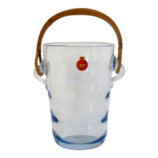Holmegaard Glass Ice Bucket For Sale