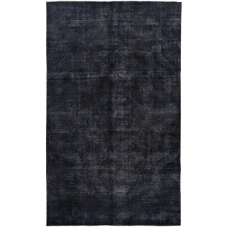 Vintage Persian Overdyed Rug For Sale