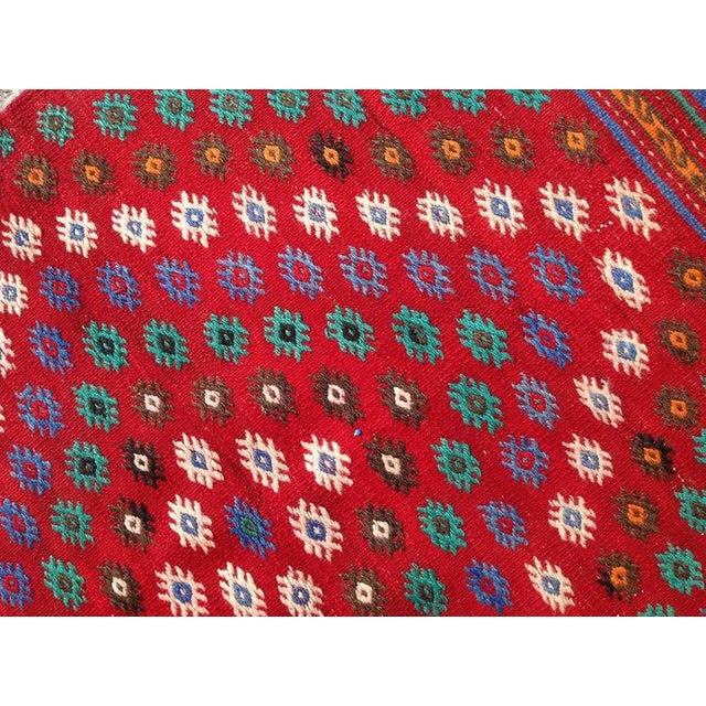 Vintage 1970s Turkish Kilim Rug - 2′11″ × 3′11″ For Sale - Image 4 of 6