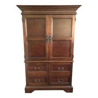 Peruvian Entertainment Armoire For Sale