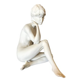 Gawantka Kaiser Nude Woman Bisque Statue For Sale