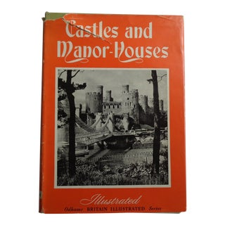 1960 Vintage Castles and Manor Houses of Britain Photographic Book For Sale