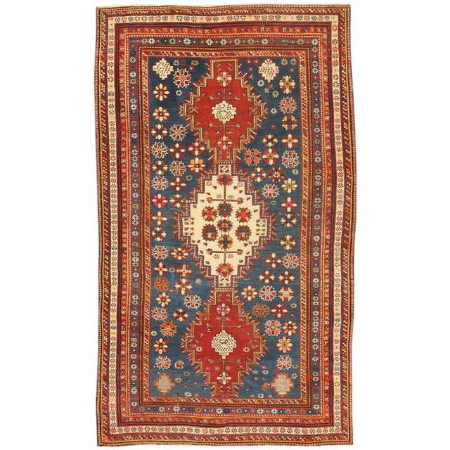 Extremely Fine Antique Caucasian Shirvan Rug For Sale