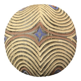 African Tribal Art Carved Wooden Zulu Shield For Sale