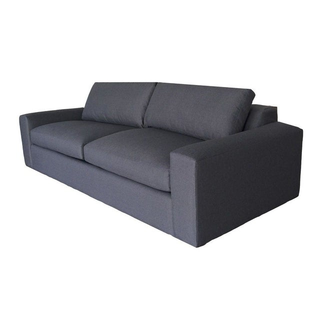 """Brand new! Never been used Room & Board Harding 92"""" Sleeper Sofa in Doria Charcoal fabric. Note from the Seller: """"We..."""