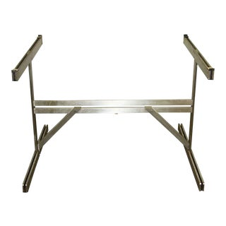Mid-Century Aluminum Table Base