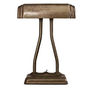 Vintage Mid-Century Industrial Desk Lamp For Sale