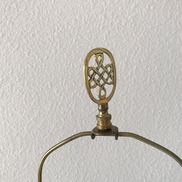 Blenko Mid-Century Cobalt Crackle Lamps - A Pair - Image 5 of 8