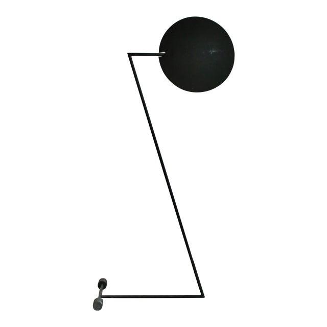 "Mid-Century ""Z"" Form Floor Lamp For Sale"
