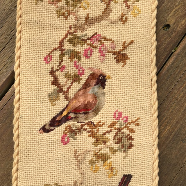 Vintage Embroidered Bird Wall Hanging - Image 5 of 10