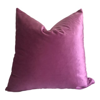 Purple Velvet Pillow Cover