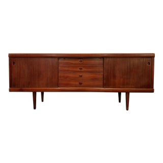 h.w. Klein for Bramin Møbler of Denmark Rosewood and Teak Credenza For Sale