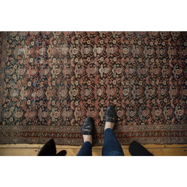 "Antique Fine Malayer Rug - 4'1"" X 6'4"" For Sale - Image 11 of 13"